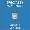 RAL 5015 Sky Blue Pint Can