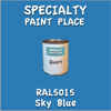 RAL 5015 Sky Blue Quart Can