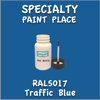 RAL 5017 Traffic Blue 2oz Bottle with Brush