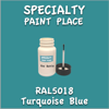 RAL 5018 Turquoise Blue 2oz Bottle with Brush