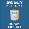 RAL 5019 Capri Blue Gallon Can