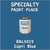 RAL 5019 Capri Blue Quart Can