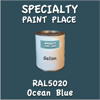 RAL 5020 Ocean Blue Gallon Can