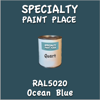 RAL 5020 Ocean Blue Quart Can