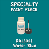 RAL 5021 Water Blue 2oz Bottle with Brush