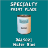 RAL 5021 Water Blue Gallon Can