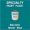 RAL 5021 Water Blue Quart Can