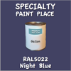 RAL 5022 Night Blue Gallon Can