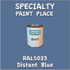 RAL 5023 Distant Blue Quart Can