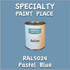 RAL 5024 Pastel Blue Gallon Can
