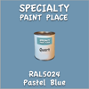 RAL 5024 Pastel Blue Quart Can