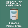 RAL 6000 Patina Green Gallon Can
