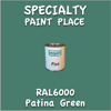 RAL 6000 Patina Green Pint Can