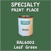 RAL 6002 Leaf Green Gallon Can