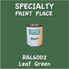 RAL 6002 Leaf Green Quart Can