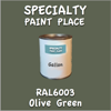 RAL 6003 Olive Green Gallon Can