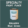 RAL 6004 Blue Green Gallon Can