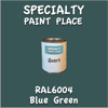 RAL 6004 Blue Green Quart Can