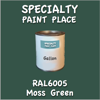 RAL 6005 Moss Green Gallon Can