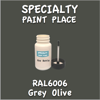 RAL 6006 Grey Olive 2oz Bottle with Brush
