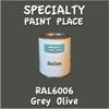 RAL 6006 Grey Olive Gallon Can