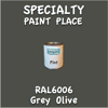 RAL 6006 Grey Olive Pint Can