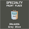 RAL 6006 Grey Olive Quart Can