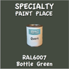 RAL 6007 Bottle Green Quart Can