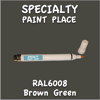 RAL 6008 Brown Green Pen