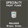 RAL 6008 Brown Green Pint Can