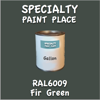 RAL 6009 Fir Green Gallon Can