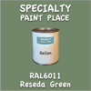 RAL 6011 Reseda Green Gallon Can