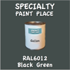 RAL 6012 Black Green Gallon Can