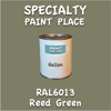 RAL 6013 Reed Green Gallon Can
