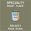RAL 6013 Reed Green Quart Can