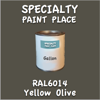 RAL 6014 Yellow Olive Gallon Can