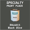 RAL 6015 Black Olive Gallon Can