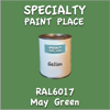 RAL 6017 May Green Gallon Can