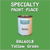 RAL 6018 Yellow Green Gallon Can
