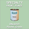 RAL 6019 Pastel Green Gallon Can