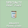RAL 6019 Pastel Green Pint Can