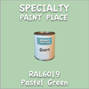 RAL 6019 Pastel Green Quart Can