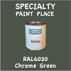 RAL 6020 Chrome Green Gallon Can