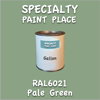 RAL 6021 Pale Green Gallon Can