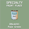 RAL 6021 Pale Green Quart Can