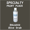 RAL 6022 Olive Drab 16oz Aerosol Can