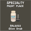 RAL 6022 Olive Drab 2oz Bottle with Brush