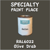 RAL 6022 Olive Drab Gallon Can