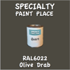 RAL 6022 Olive Drab Quart Can