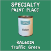 RAL 6024 Traffic Green Gallon Can